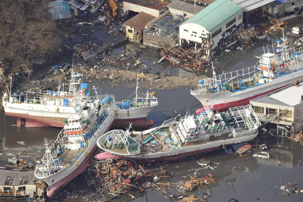 Tōhoku Earthquake and Tsunami, 2011