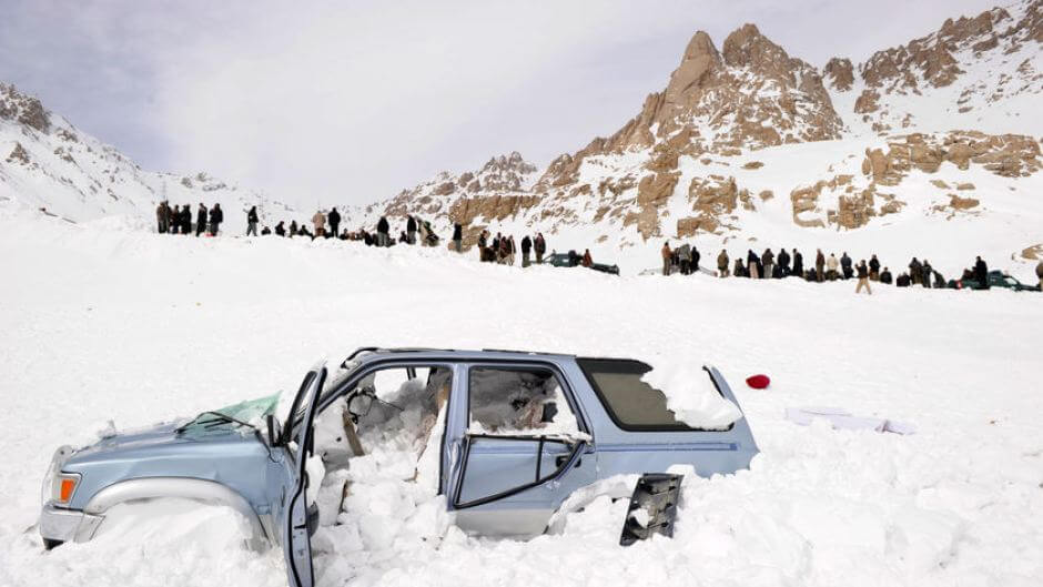 Afghanistan Blizzard, 2008
