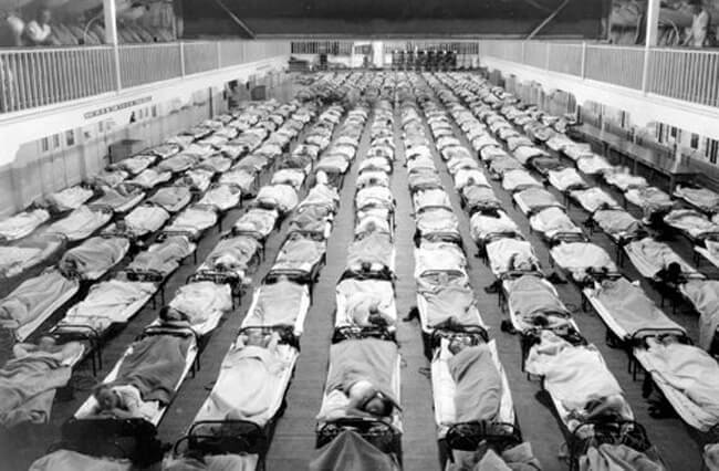 Spanish Influenza, 1918